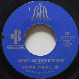 Oscar Toney Jr. - Without Love (There Is Nothing)