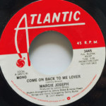 Margie Joseph - Come On Back To Me Lover