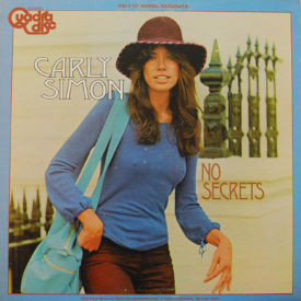 Carly Simon - No Secrets- Quadradisc