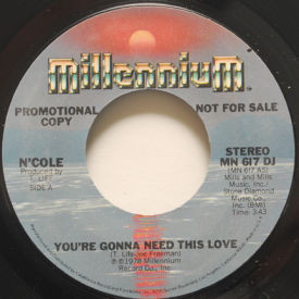N'cole - You're Gonna Need This Love