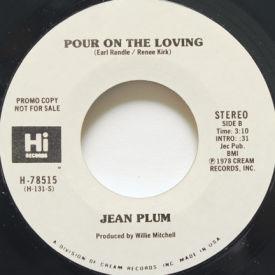 Jean Plum - Pour On The Loving