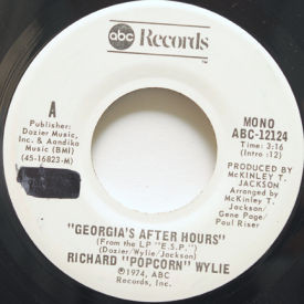 Richard Popcorn Wylie - Geogia's After Hours