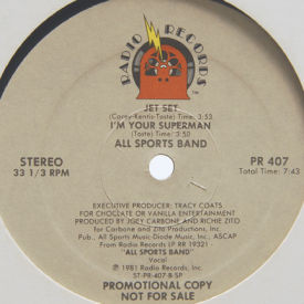 All Sports Band - Can't Give Up This Feeling/Run Away