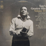 Tony Bennett - Tony's Greatest Hits Vol. III - SEALED