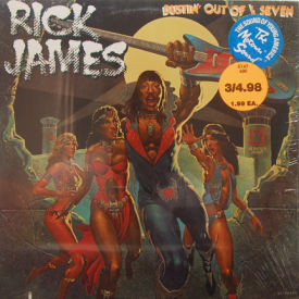 Rick James - Bustin' Out Of L Seven – SIS