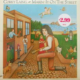 Corky Laing - Makin' It On The Street – SEALED