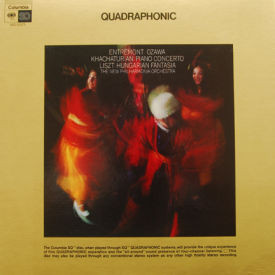 Philippe Entremont/Seiji Ozawa - Khachaturian Piano Concerto – Quadraphonic