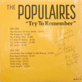 Populaires - Try To Remember