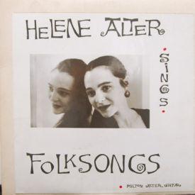 Helene Alter - Sings Folk Songs