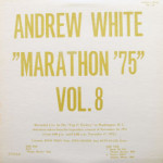 Andrew White - Marathon '75 Vol. 8