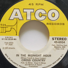 Cross Country - In The Midnight Hour/A Smile Song