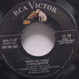 Elvis Presley, Tito Puente, Tony Cabot, Tony Scott - Highlighter