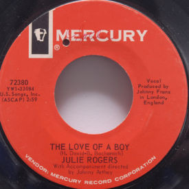 Julie Rogers - Love Of A Boy/Like A Child