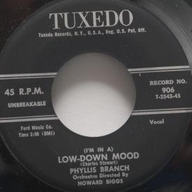 Phyllis Branch - Be Still My Heart