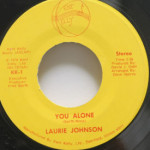 Laurie Johnson - You Alone/Honey I Love You
