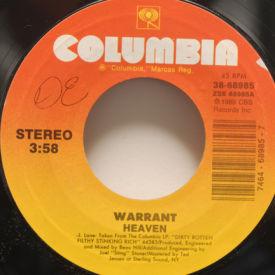Warrant - Heaven