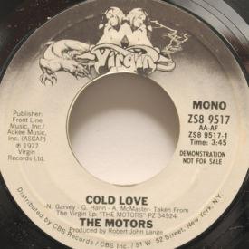 Motors - Cold Love