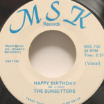 Sunsetters - Happy Birthday/Anniversary Song