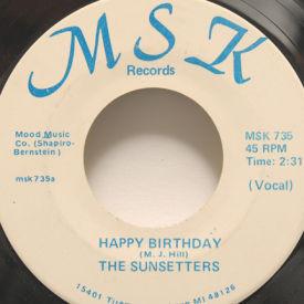 Sunsetters - Happy Birthday/Anniversary Song