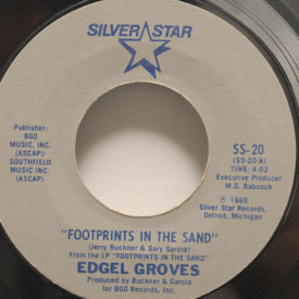 Edgel Groves - Footprints In The Sand