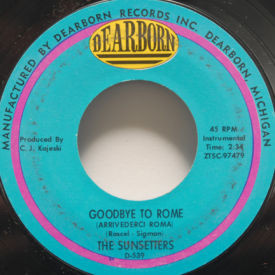 Sunsetters - Goodbye To Rome