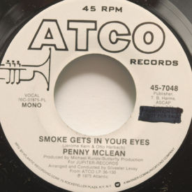 Penny McLean - Smoke Gets In Your Eyes