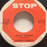 Darvin Sturgill - Hello George/A Truthful Loneliness