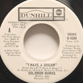 Solomon Burke - I Have A Dream