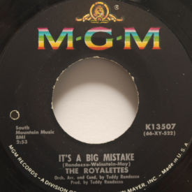 Royalettes - It's A Big Mistake