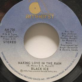 Black Ice - Making Love In The Rain