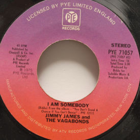 Jimmy James And The Vagabonds - I Am Somebody/Chains Of Love