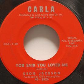 Deon Jackson - You Said You Loved Me