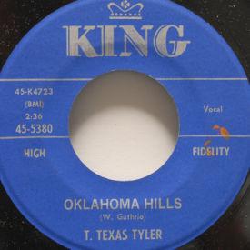 T. Texas Tyler - Oklahoma Hills/Remember Me
