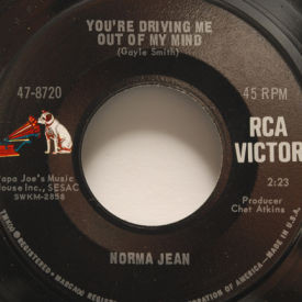 Norma Jean - You're Driving Me Out Of My Mind