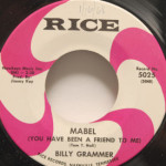 Billy Grammer - Mabel/Papa And Mama