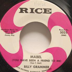 Billy Grammer - Mabel/Papa And Mama