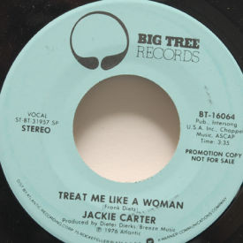 Jackie Carter - Treat Me Like A Woman