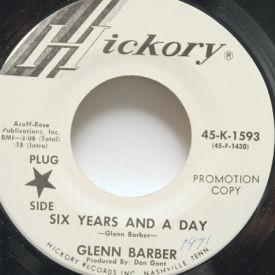 Glenn Barber - Six Years And A Day