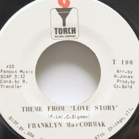 Franklyn MacCormak - Theme From Love Story
