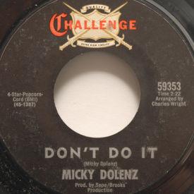 Micky Dolenz - Don't Do It
