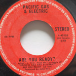 Pacific Gas & Electric - Are You Ready/Staggolee