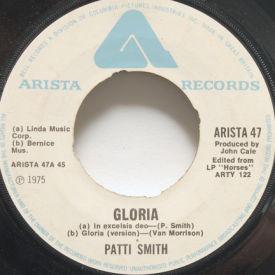 Patti Smith - Gloria/My Generation