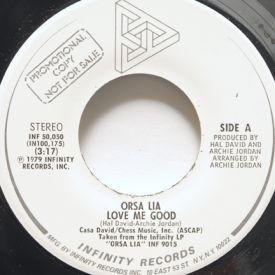 Orsa Lia - Love Me Good