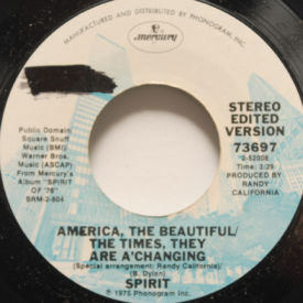 Spirit - Lady Of The Lakes/America The Beautiful