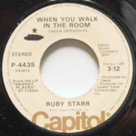 Ruby Starr - When You Walk In The Room