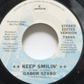 Gabor Szabo - Keep Smilin'/Baby Rattlesnake