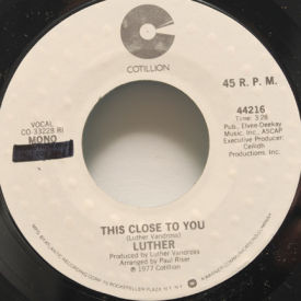 Luther Vandross - This Close To You