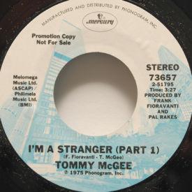 Tommy McGee - I'm A Stranger