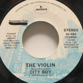 City Boy - The Violin