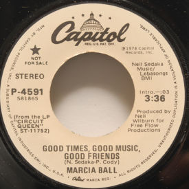 Marcia Ball - Good Times, Good Music, Good Friends